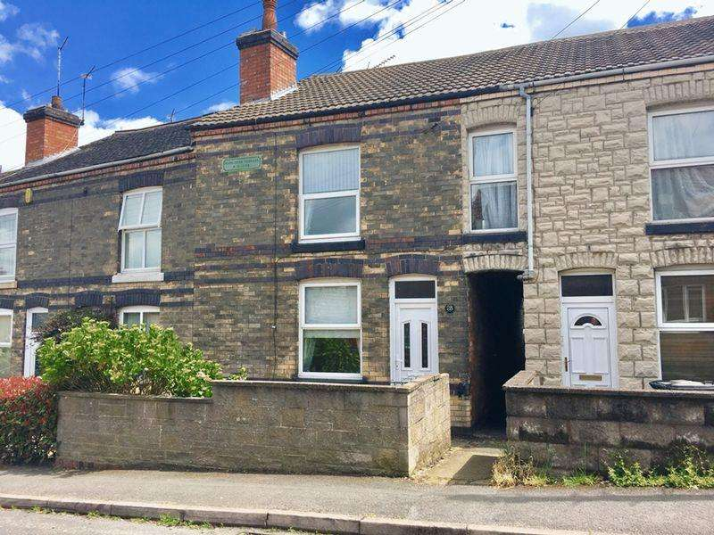 2 Bedrooms Terraced House for sale in Station Road, Woodville