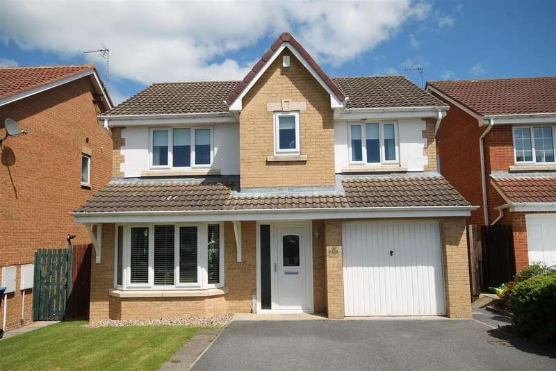 4 Bedrooms Detached House for sale in Bluebell Drive, Middlestone Moor