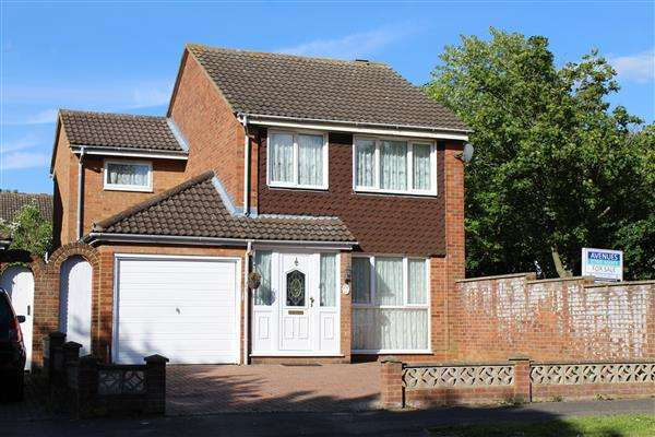 4 Bedrooms Detached House for sale in Stantonbury, Milton Keynes