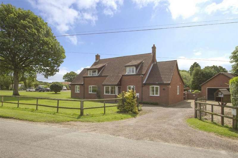 4 Bedrooms Detached House for sale in Chapel Street, Barford, Norfolk