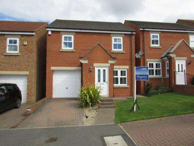 3 Bedrooms Detached House for sale in ELMFIELD, HETTON-LE-HOLE, SEAHAM DISTRICT