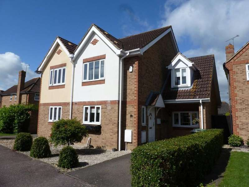 3 Bedrooms Semi Detached House for sale in Conyer Close, Maldon