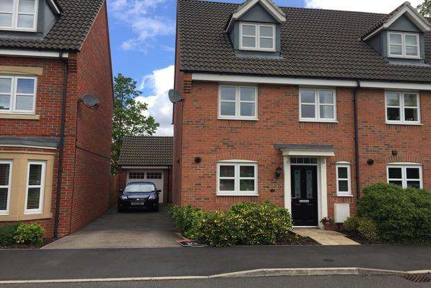 4 Bedrooms Semi Detached House for sale in Old Church Road, Enderby, Leicester, LE19