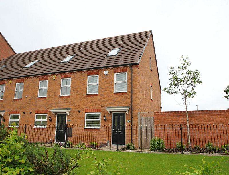 3 Bedrooms End Of Terrace House for sale in Wellspring Gardens, Dudley