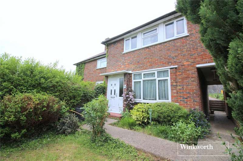 3 Bedrooms Terraced House for sale in Reston Path, Borehamwood, Hertfordshire, WD6