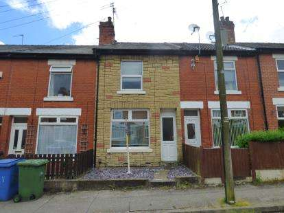 2 Bedrooms Terraced House for sale in Harrington Street, Mansfield, Nottinghamshire
