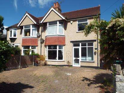 4 Bedrooms Semi Detached House for sale in Meirion Gardens, Colwyn Bay, Conwy, LL29