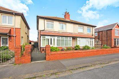 3 Bedrooms Semi Detached House for sale in Kendal Road, Lytham St. Annes, Lancashire, England, FY8