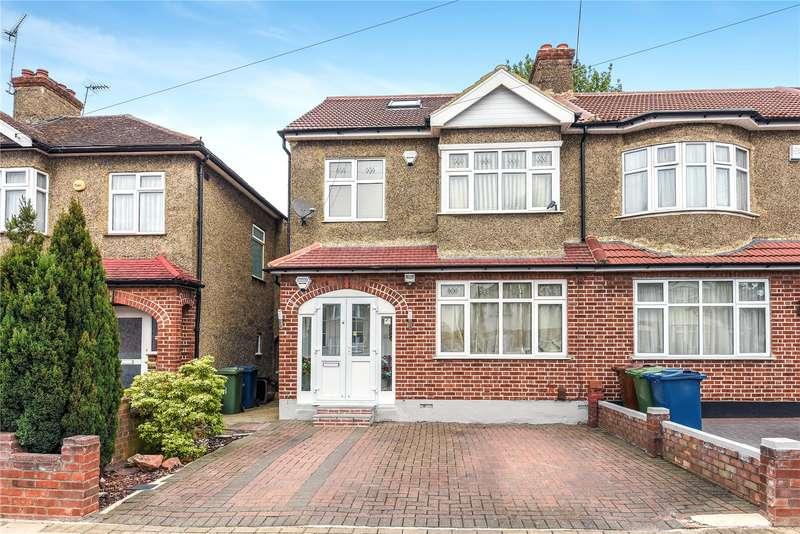 4 Bedrooms End Of Terrace House for sale in Tregenna Avenue, Harrow, London, HA2