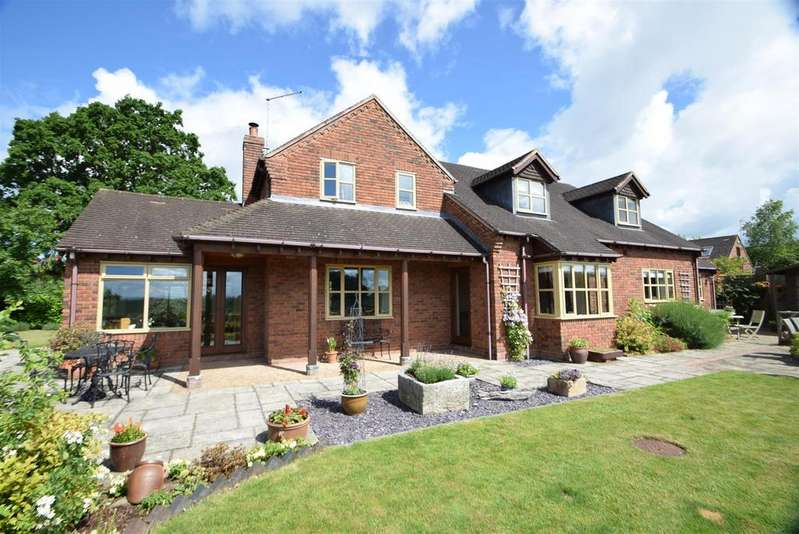 4 Bedrooms Detached House for sale in Osmington, Knockin Heath, Oswestry, SY10 8EA