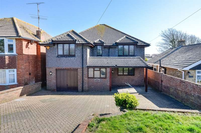 4 Bedrooms Detached House for sale in Old Salts Farm Road, Lancing, West Sussex, BN15