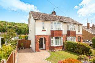 3 Bedrooms Semi Detached House for sale in Valley Road, River, Dover, Kent