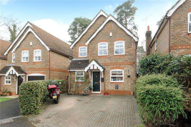 3 Bedrooms Detached House for sale in Fordwells Drive, Bracknell, Berkshire
