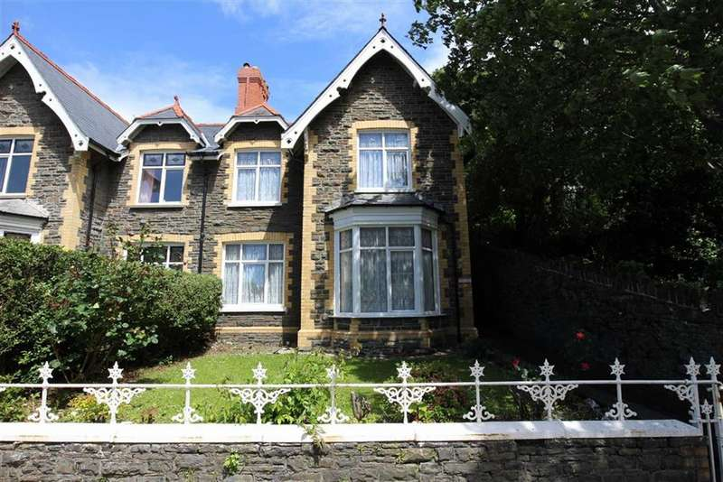 3 Bedrooms Semi Detached House for sale in North Road, Aberystwyth