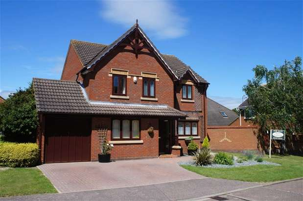 4 Bedrooms Detached House for sale in Eagle Gardens, Bedford