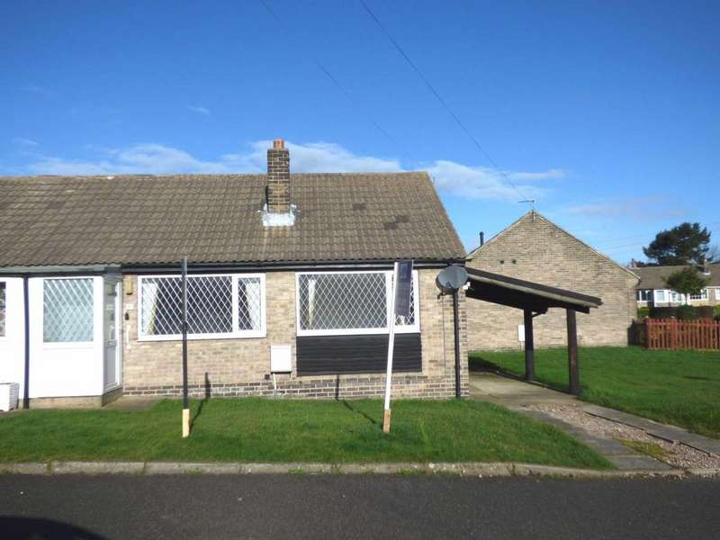 2 Bedrooms Semi Detached Bungalow for sale in The Crofts, Emley, Huddersfield, West Yorkshire, HD8