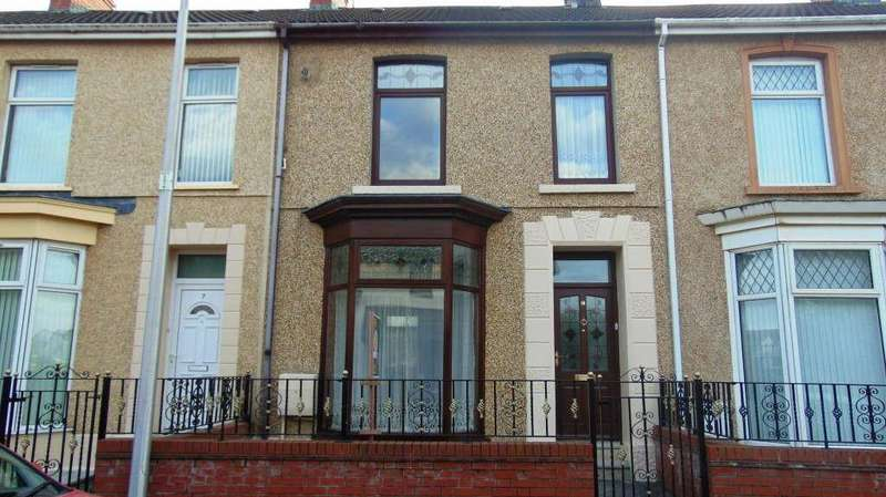 4 Bedrooms Terraced House for sale in Great Western Terrace, Llanelli, Llanelli, Carmarthenshire