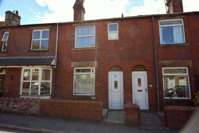 2 Bedrooms Terraced House for sale in Chapel Road, Whaley Bridge, High Peak