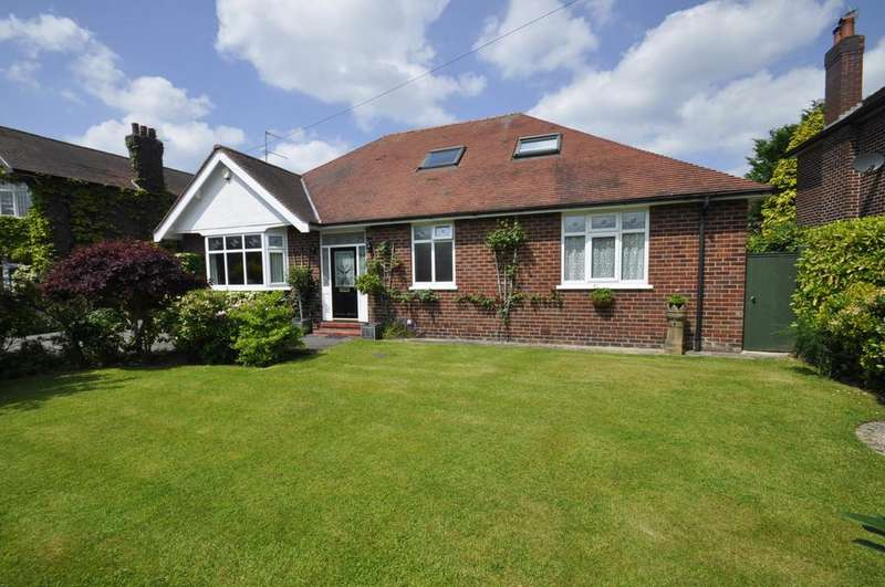 4 Bedrooms Bungalow for sale in Ramillies Avenue, Cheadle Hulme