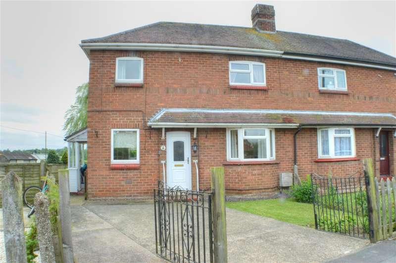 3 Bedrooms Semi Detached House for sale in Hillside Estate, Ruskington