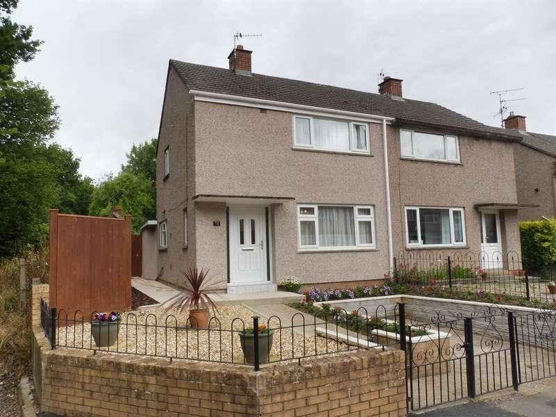 2 Bedrooms Semi Detached House for sale in Lewis Road, Llandough, Penarth