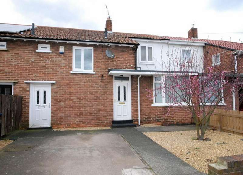 2 Bedrooms Terraced House for sale in The Riding, Gosforth