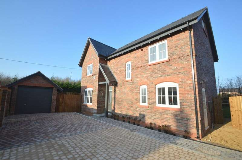 4 Bedrooms Detached House for sale in Higher Heath, Knutsford Road, Cranage