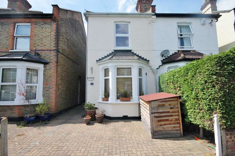3 Bedrooms Semi Detached House for sale in Salisbury Road, New Malden