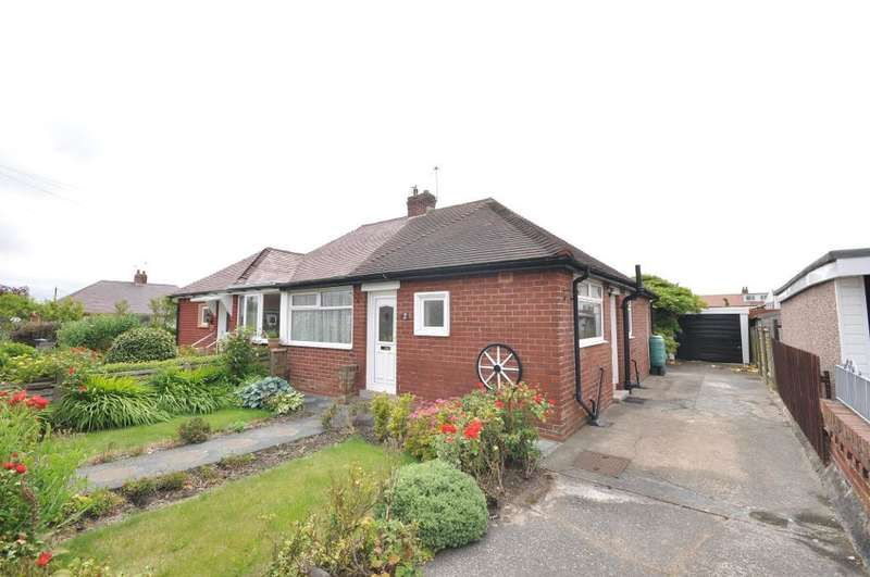 2 Bedrooms Semi Detached Bungalow for sale in Kinross Crescent, Blackpool, Lancashire, FY4 4PE