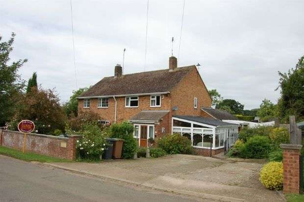 3 Bedrooms Semi Detached House for sale in Upper Harlestone, Upper Harlestone, Northampton NN7 4EH