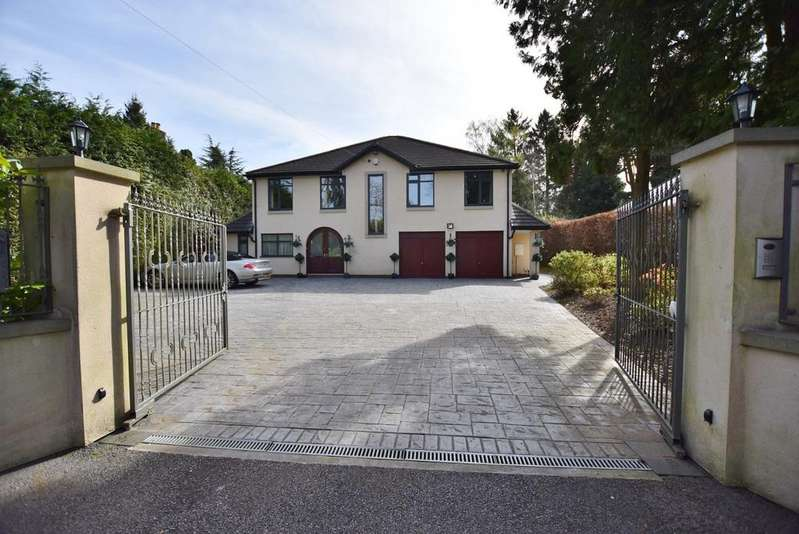 4 Bedrooms Detached House for sale in Bollinway, Hale