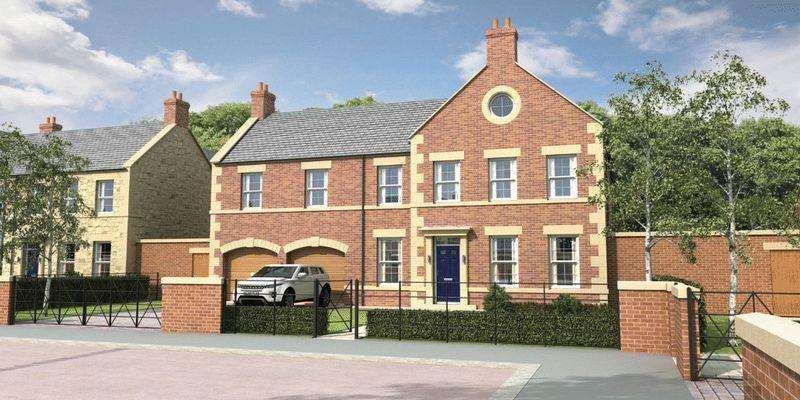 4 Bedrooms Detached House for sale in Plot 7, Brunton Square, Gosforth