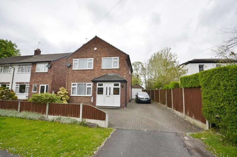 3 Bedrooms Detached House for sale in Bloomsbury Lane, Timperley, Altrincham