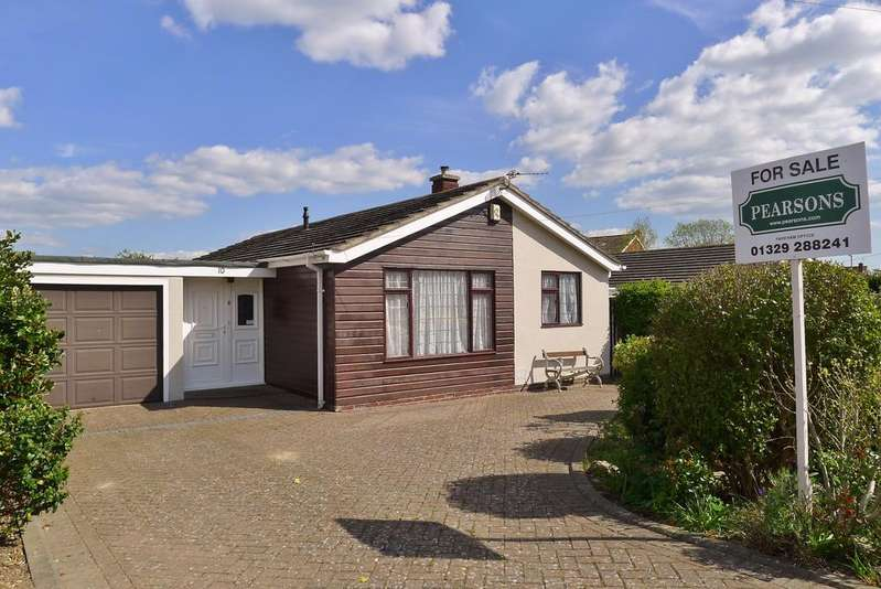 2 Bedrooms Detached Bungalow for sale in CLEE AVENUE, FAREHAM