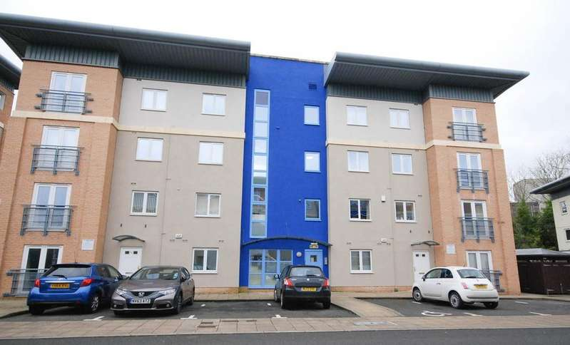 2 Bedrooms Apartment Flat for sale in Knightsbridge Court, Gosforth