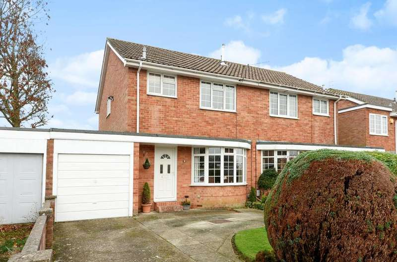 3 Bedrooms Semi Detached House for sale in Bridefield Crescent, Waterlooville, PO8