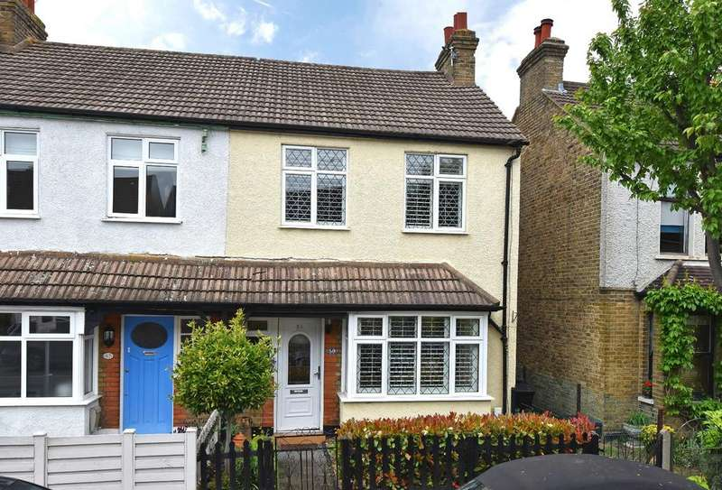 2 Bedrooms End Of Terrace House for sale in Albert Road, Bromley