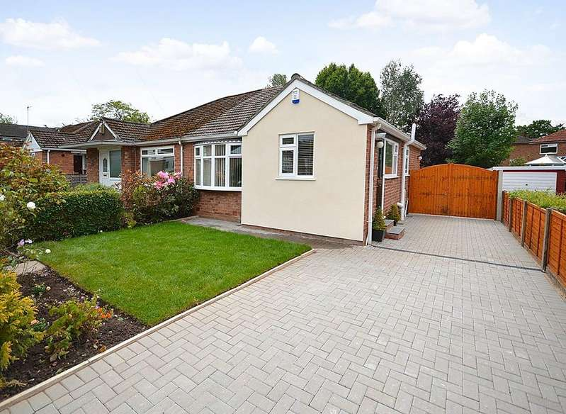2 Bedrooms Semi Detached Bungalow for sale in Portloe Road, Heald Green