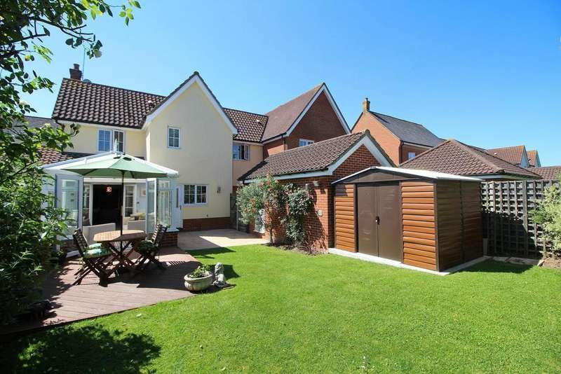3 Bedrooms Link Detached House for sale in Tapley Road, Chelmsford, Essex, CM1