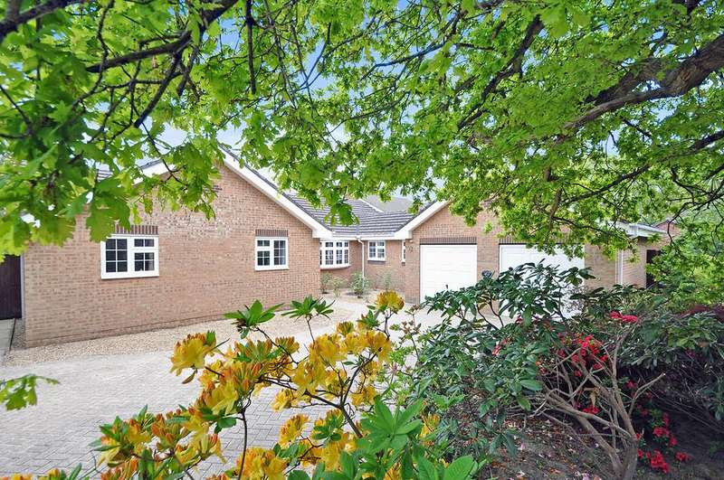 3 Bedrooms Detached Bungalow for sale in Burnetts Gardens, Horton Heath, Eastleigh, Hampshire, SO50 7BY