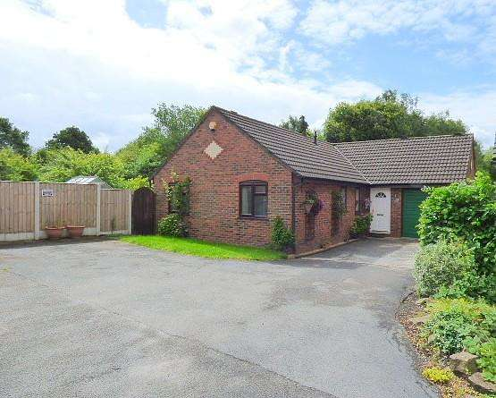 3 Bedrooms Detached Bungalow for sale in Rockingham Close, Gorse Covert, Warrington