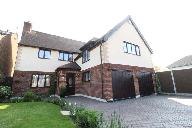 4 Bedrooms Detached House for sale in Grosvenor Gardens, Upminster, Essex, RM14
