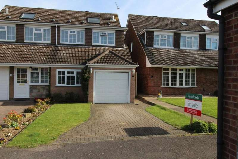 5 Bedrooms Semi Detached House for sale in The Cobbles, Cranham, Upminster, Essex, RM14