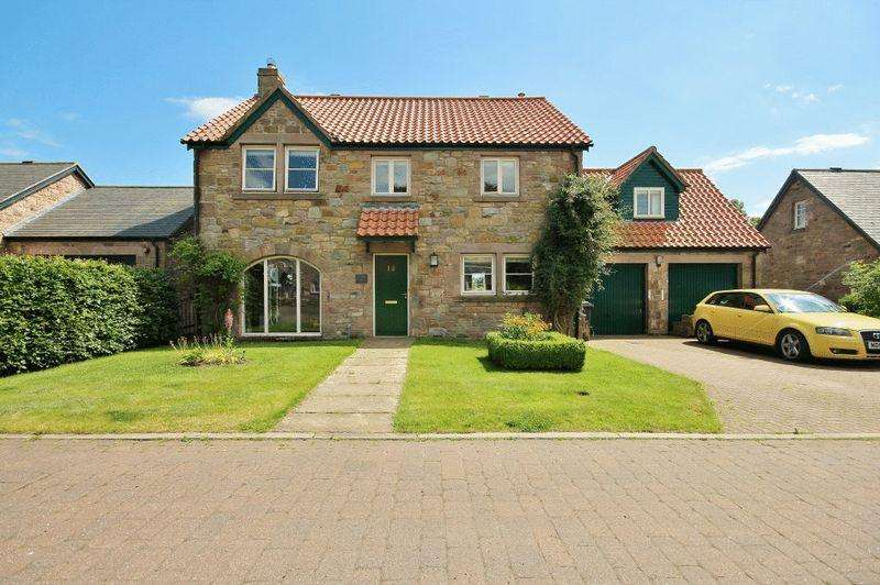 4 Bedrooms Detached House for sale in Mill Hill, Chatton, Alnwick