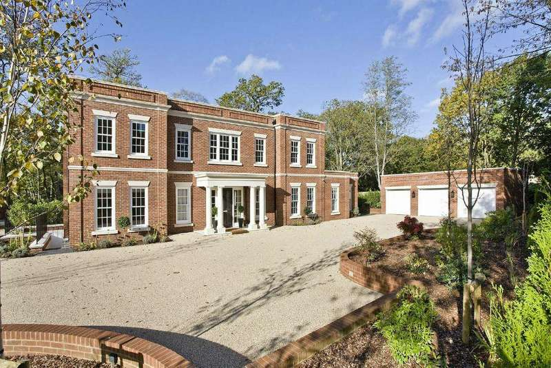 5 Bedrooms Detached House for sale in Waverley Drive, Wentworth Estate, Virginia Water, Surrey, GU25 4PZ