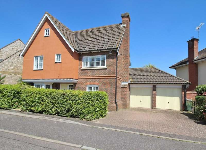 4 Bedrooms Detached House for sale in Anjou Green, Chelmsford, Essex, CM1