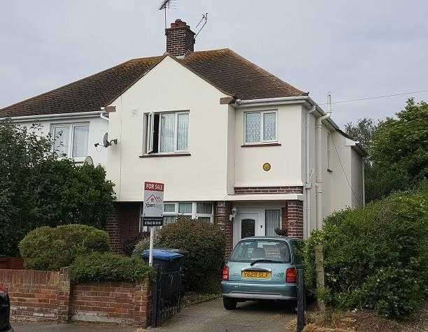 3 Bedrooms Semi Detached House for sale in Hugin Avenue, St Peters, Broadstairs