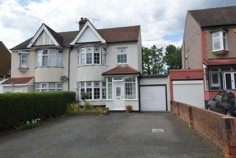 3 Bedrooms Semi Detached House for sale in Fairholme Avenue, Gidea Park, Romford, RM2