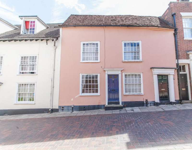2 Bedrooms Terraced House for sale in East Stockwell Street, Colchester, Essex, CO1