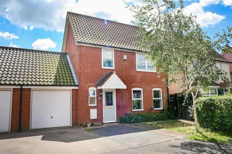 4 Bedrooms Link Detached House for sale in Forest Gardens, Rendlesham, Woodbridge